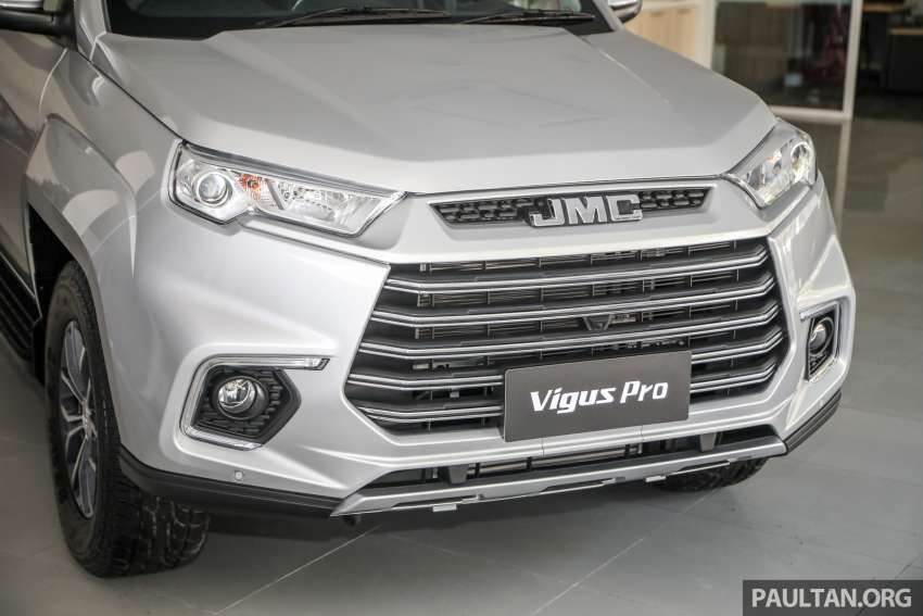JMC Vigus Pro 4×4 launched in Malaysia – pick-up truck with Ford 2.0 TDCi, ZF8 auto; CKD, RM98,888 Image #1359568