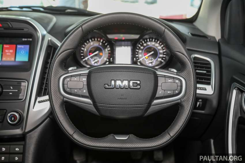 JMC Vigus Pro 4×4 launched in Malaysia – pick-up truck with Ford 2.0 TDCi, ZF8 auto; CKD, RM98,888 Image #1359607