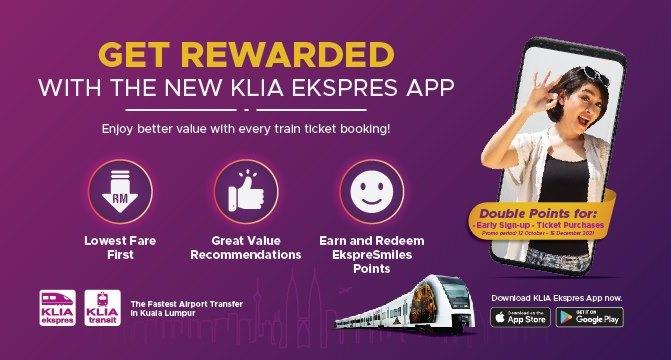 ERL launches KLIA Ekspres app, ExpreSmiles loyalty programme – RM1 joyride for public sometime in Nov Image #1360483