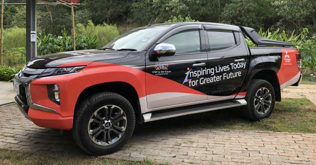 Mitsubishi Motors Malaysia donates a Triton pick-up truck to Dignity Farm School as part of CSR initiative