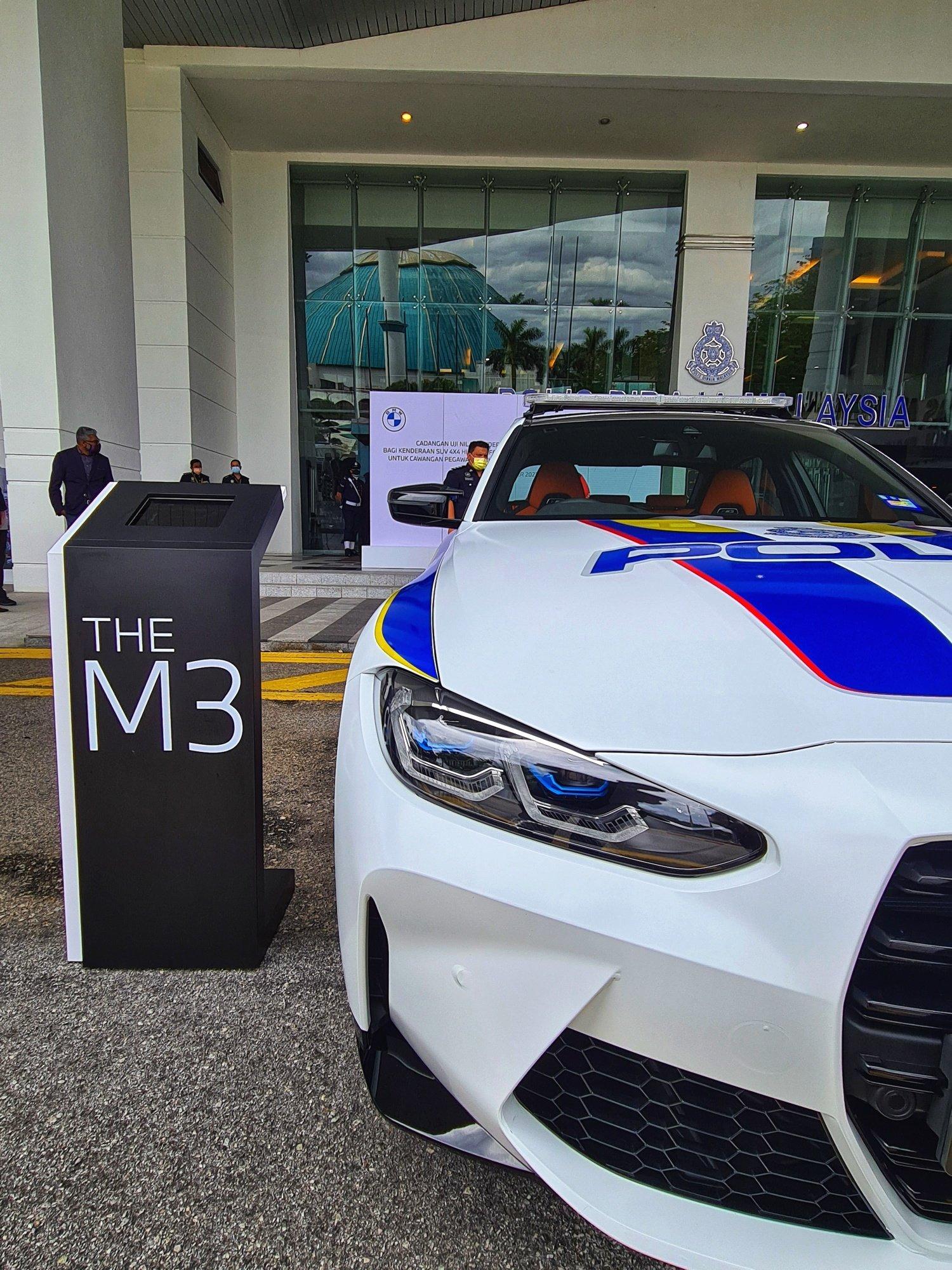 PDRM BMW M3, VW Tiguan_2