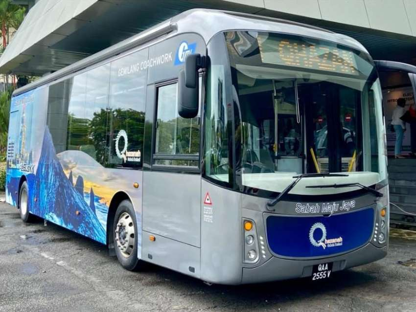 Sabah to run electric bus pilot project in Kota Kinabalu by end of 2021 to promote green public transport Image #1360581