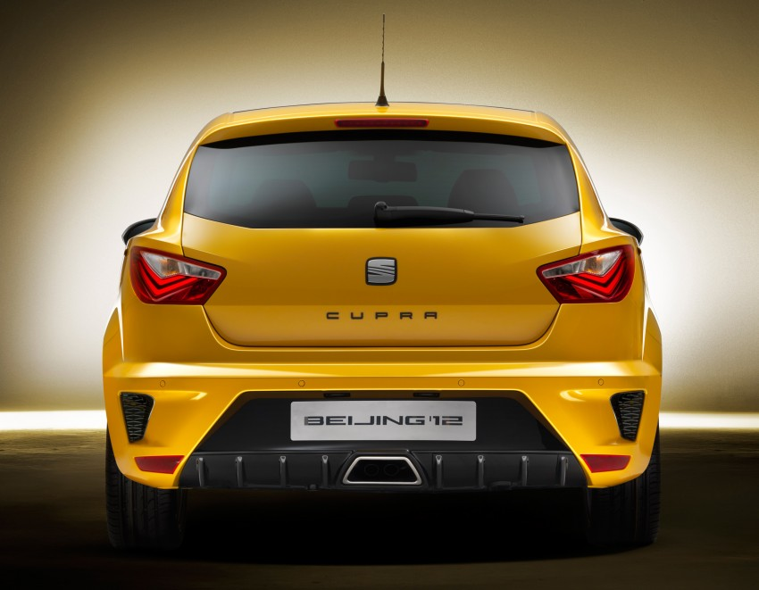 SEAT Ibiza Cupra close-to-production concept in Beijing Image #102157