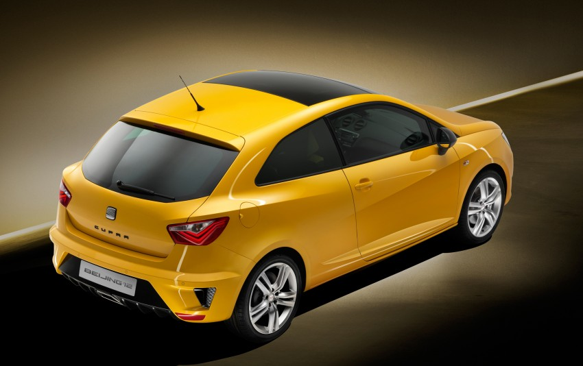 SEAT Ibiza Cupra close-to-production concept in Beijing Image #102156