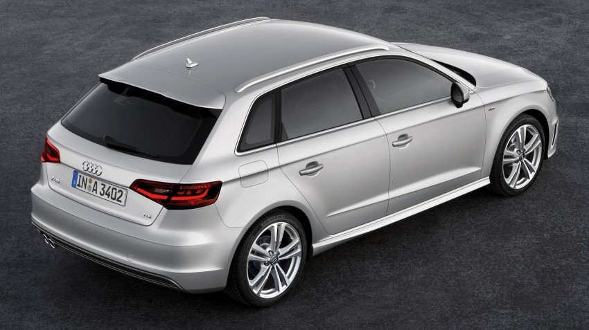 Third-gen Audi A3 Sportback to surface in Paris Image #132452