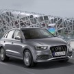 Audi Q3 2.0 TDI quattro S line/Fahraufnahme