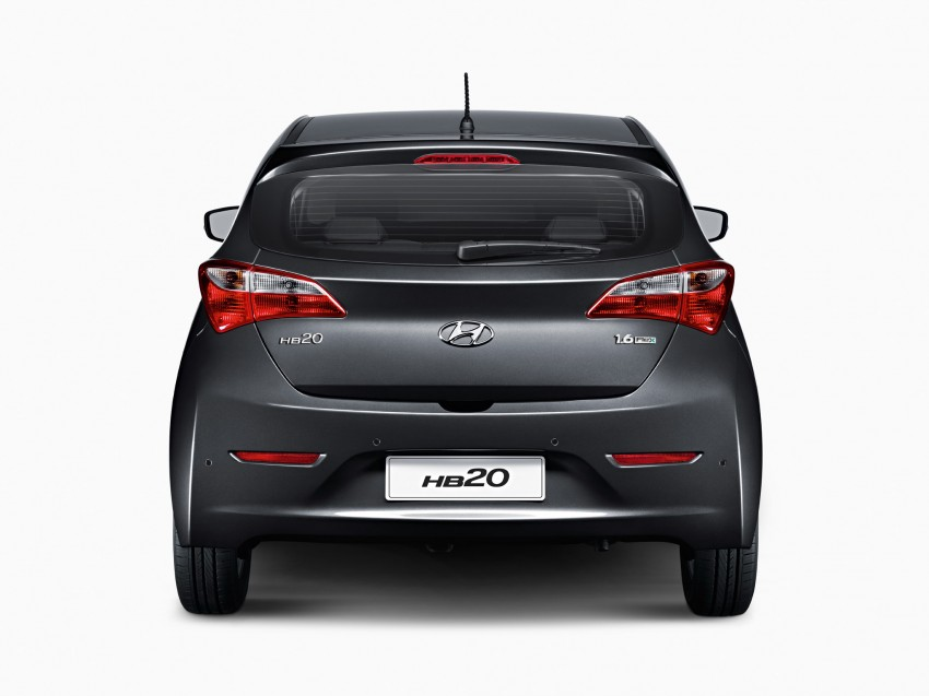 Hyundai HB20X crossover joins the Brazilian line-up Image #137756