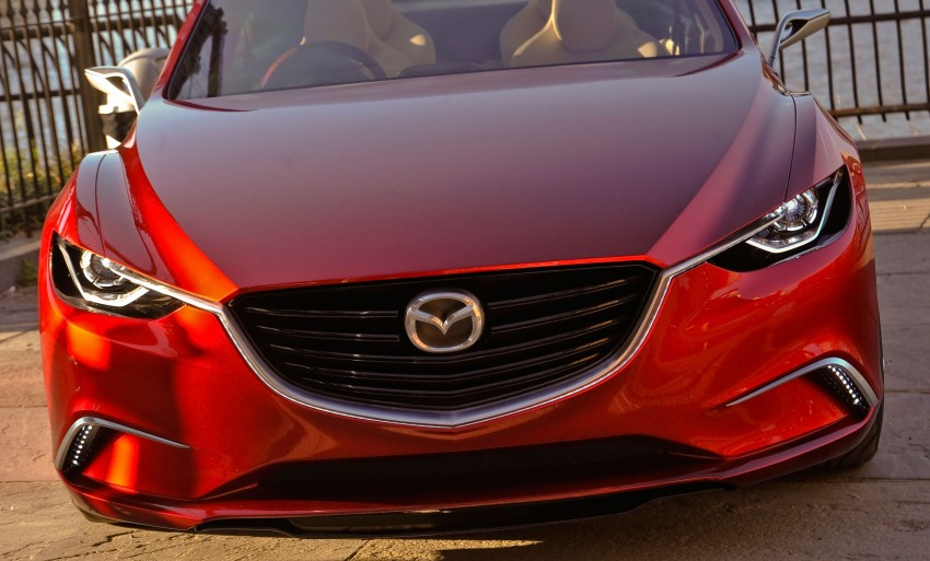 Mazda Takeri Concept makes its first appearance in USA ...