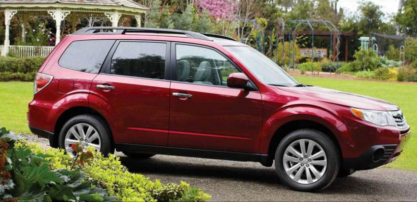 2012 Subaru Forester pricing revised in Malaysia Image #116990
