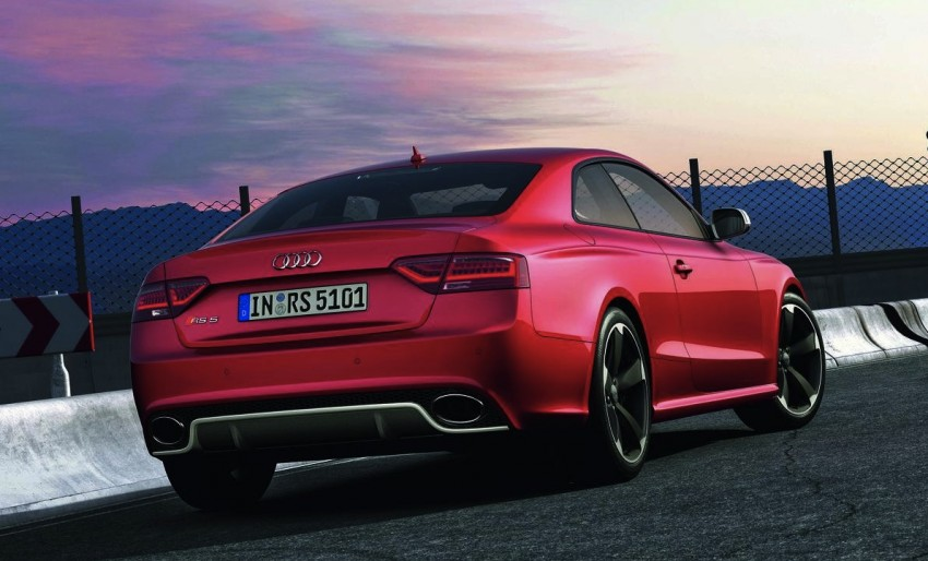 Frankfurt: Audi presents the refreshed 444 hp / 430 Nm RS5 Image #69045