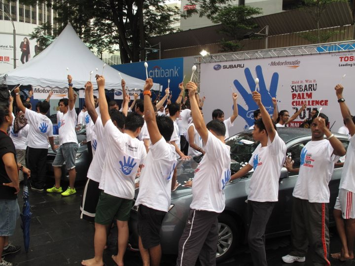 Subaru Palm Challenge: 10 winners head to the Lion City! Image #68007