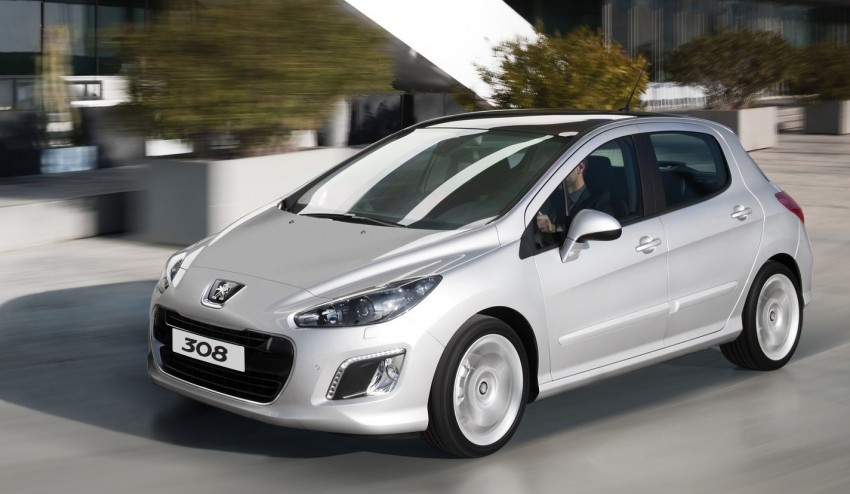 Peugeot 308 gets new look and features, from RM102k Image #116155