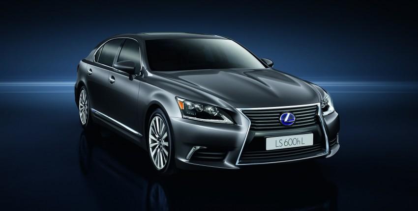New Lexus LS unveiled, F Sport new addition to range Image #122833