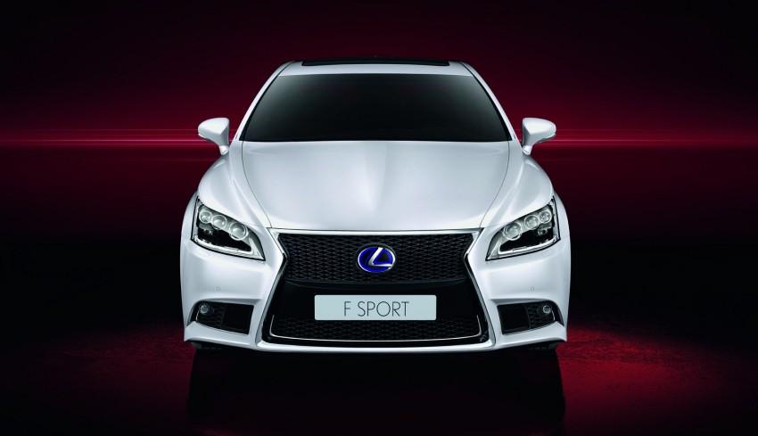 New Lexus LS unveiled, F Sport new addition to range Image #122832