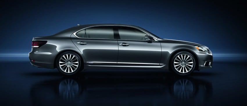 New Lexus LS unveiled, F Sport new addition to range Image #122831