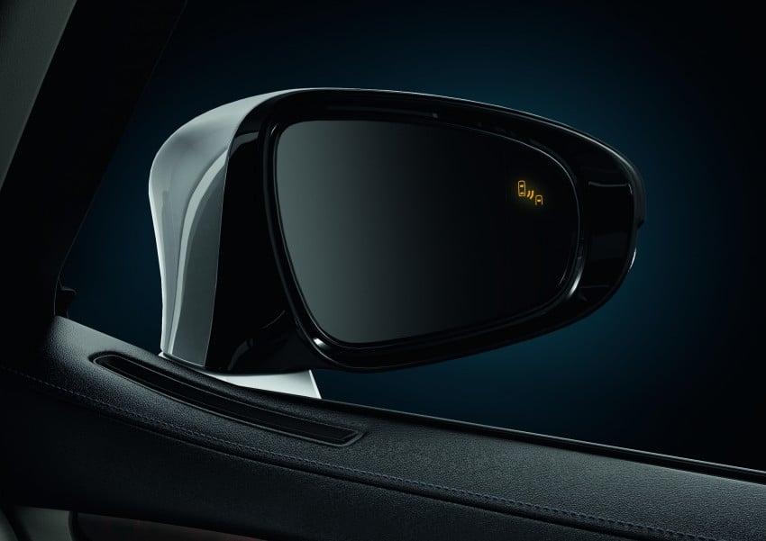 New Lexus LS unveiled, F Sport new addition to range Image #122829