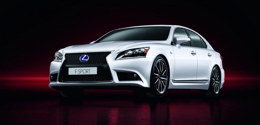 New Lexus LS unveiled, F Sport new addition to range Image #122835