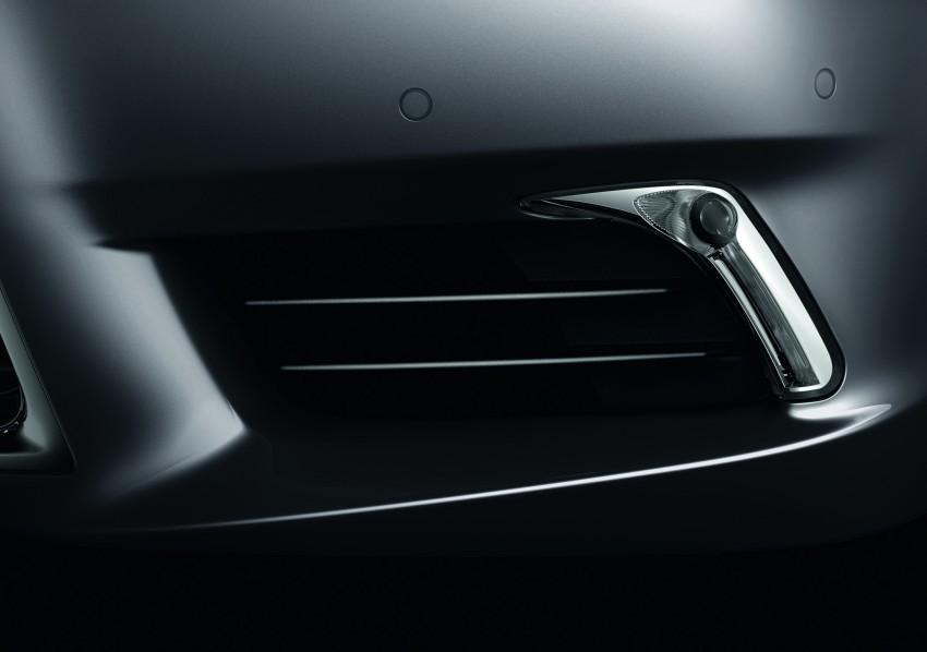 New Lexus LS unveiled, F Sport new addition to range Image #122827