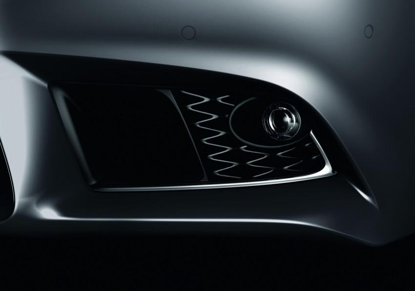 New Lexus LS unveiled, F Sport new addition to range Image #122828