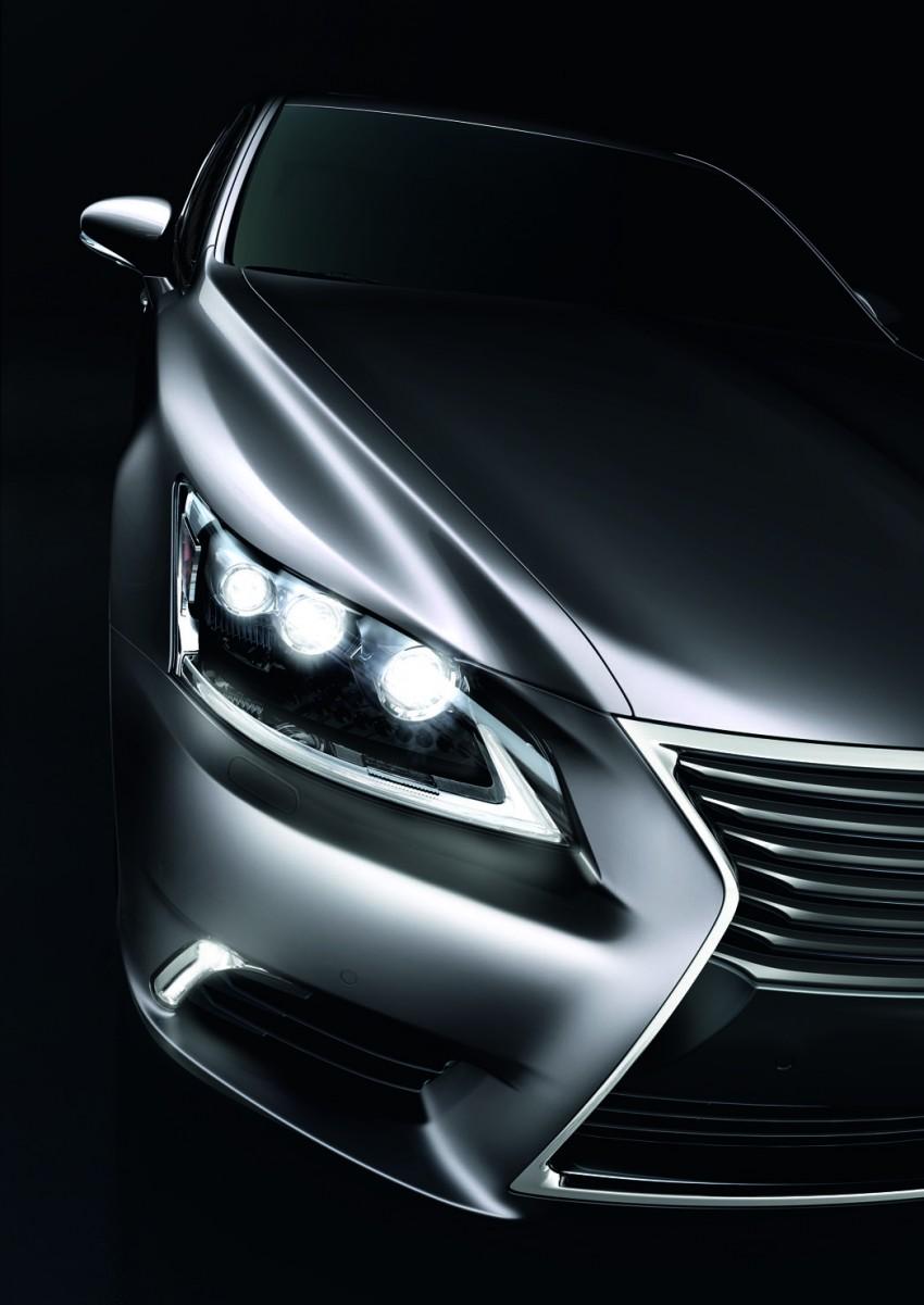 New Lexus LS unveiled, F Sport new addition to range Image #122830