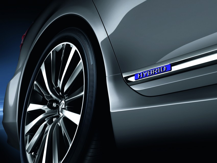 New Lexus LS unveiled, F Sport new addition to range Image #122826