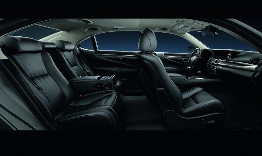 New Lexus LS unveiled, F Sport new addition to range Image #122823