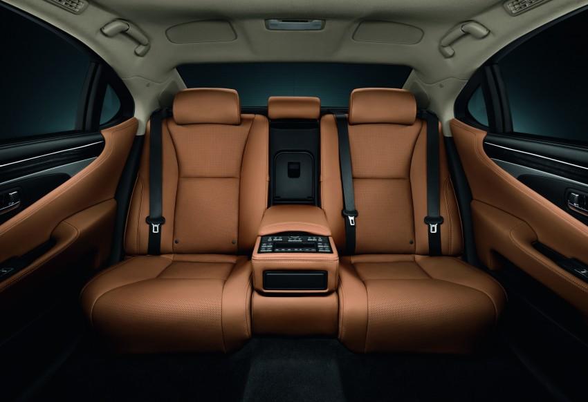 New Lexus LS unveiled, F Sport new addition to range Image #122820