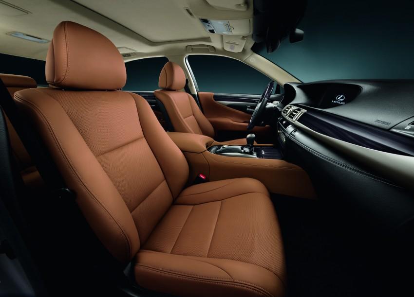 New Lexus LS unveiled, F Sport new addition to range Image #122821