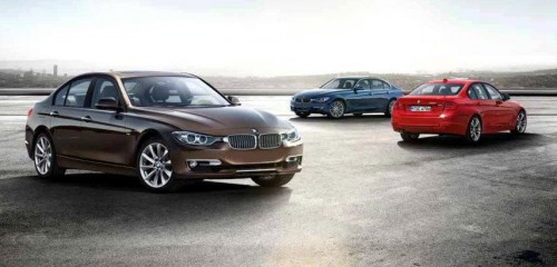 BMW F30 3 Series unveiled: four engines at launch, three