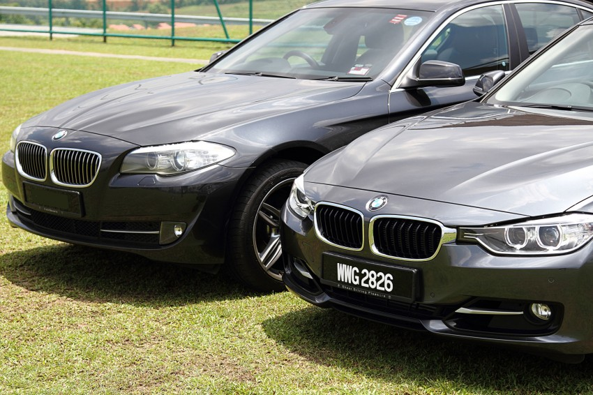BMW F30 and F10: side by side visual comparison Image #110499