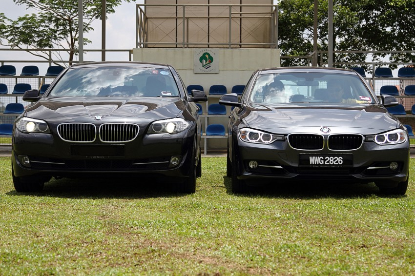 BMW F30 and F10: side by side visual comparison Image #110500