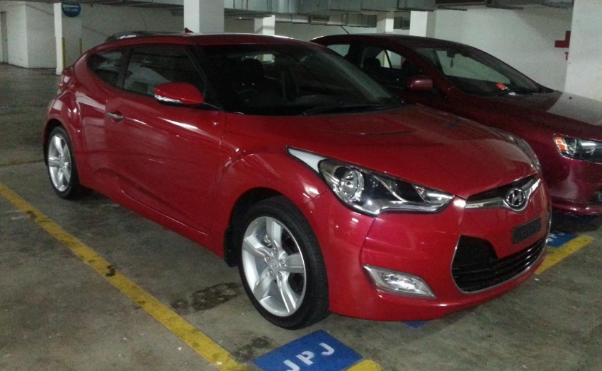 SPIED: Hyundai Veloster spotted at JPJ car park! Image #133561