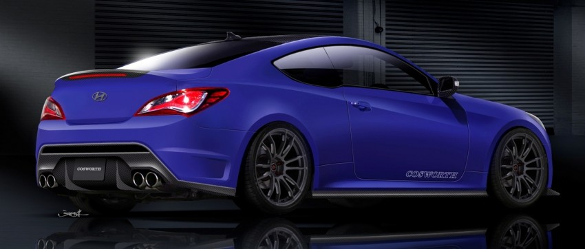 Hyundai Genesis Coupe by Cosworth is SEMA-bound Image #134416