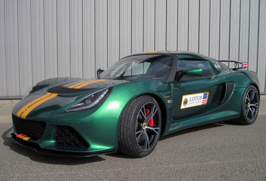 New Lotus Exige V6 Cup: 346hp track day special Image #126005