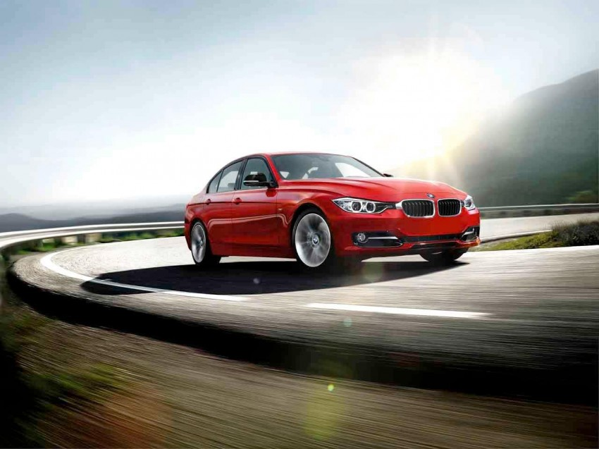 BMW F30 3 Series unveiled: four engines at launch, three equipment lines, market debut in Feb 2012 Image #72701