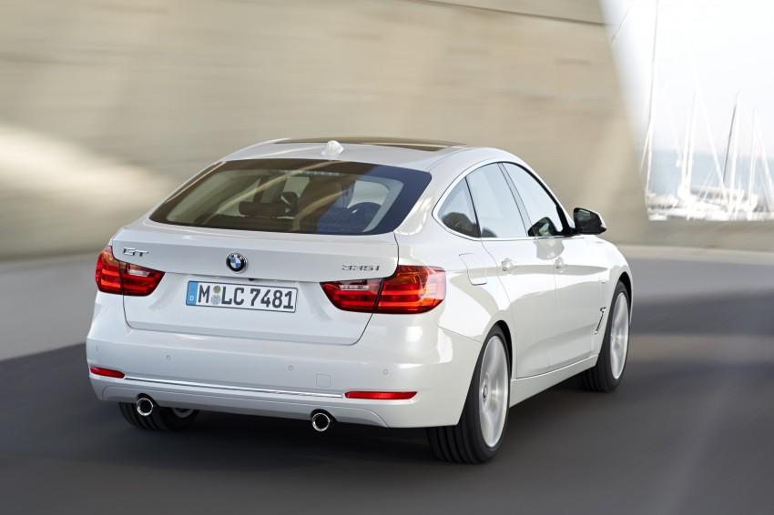 BMW 3-Series Gran Turismo – the wraps come off Image #153142