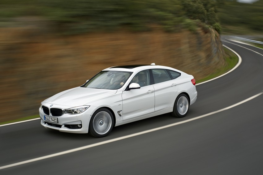 BMW 3-Series Gran Turismo – the wraps come off Image #153217