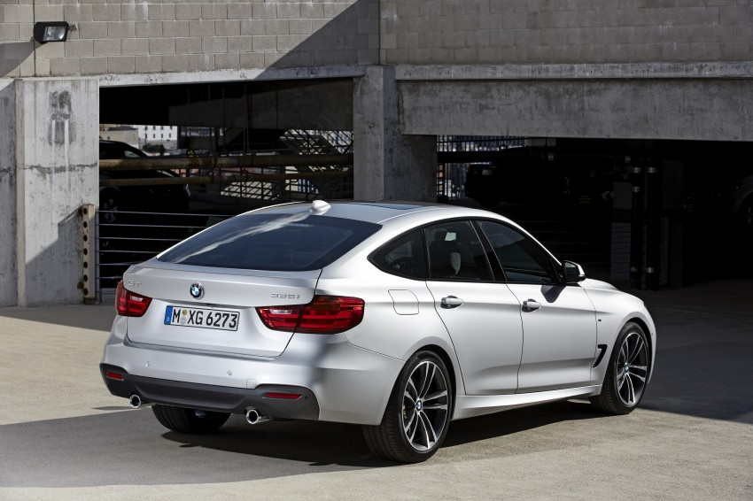 BMW 3-Series Gran Turismo – the wraps come off Image #153130