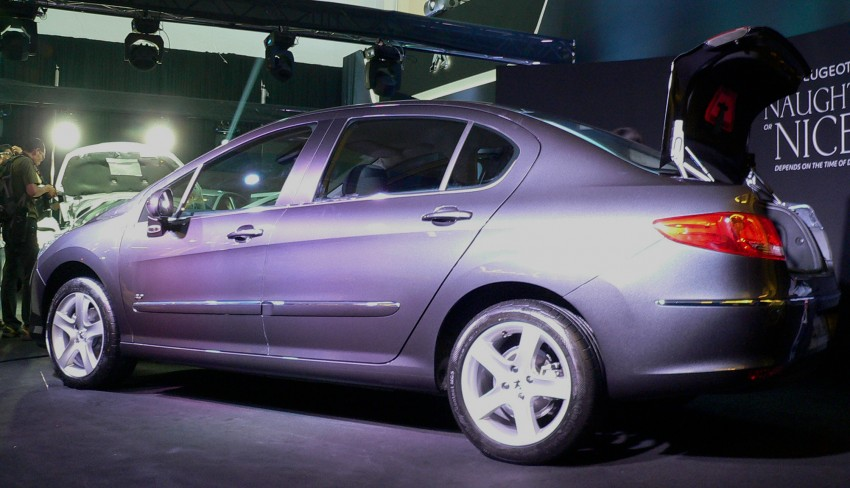 Peugeot 408 launched – Turbo at RM126k, 2.0 at RM110k Image #107582