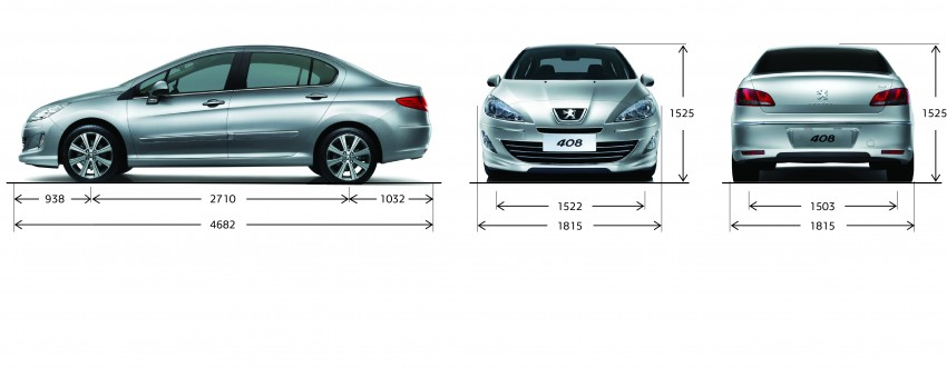Peugeot 408 launched – Turbo at RM126k, 2.0 at RM110k Image #107673