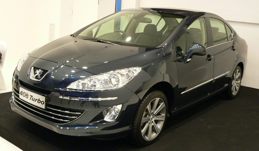 Peugeot 408 launched – Turbo at RM126k, 2.0 at RM110k Image #107578