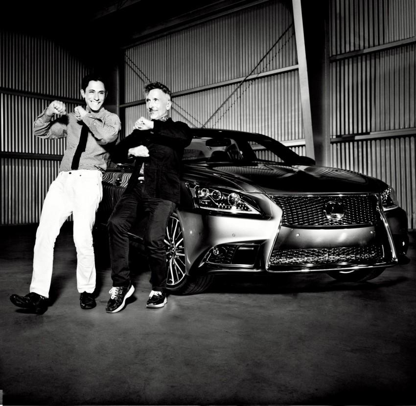 New Lexus LS unveiled, F Sport new addition to range Image #122431