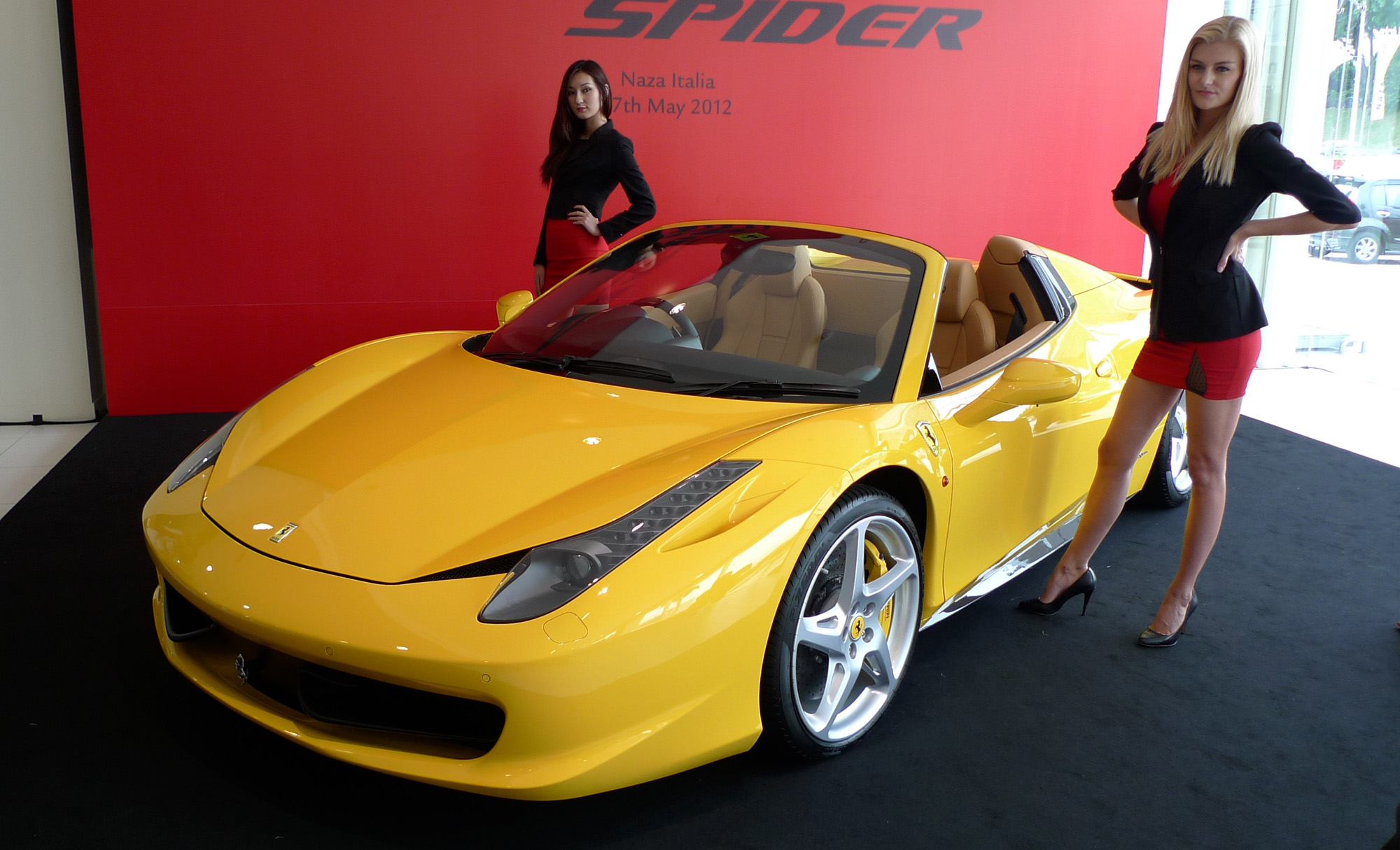 ferrari 458 spider launched pricing starts from rm1 9 mil. Black Bedroom Furniture Sets. Home Design Ideas