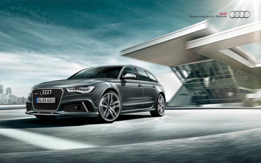 Audi RS 6 Avant – 560 PS, 0-100 km/h in 3.9 seconds Image #144860