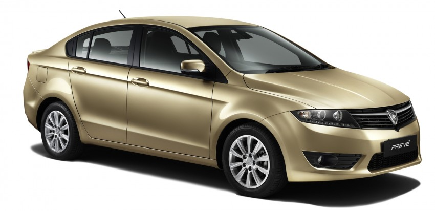 Proton Prevé with 1.6 turbo launched: RM60k – RM73k! Image #101095