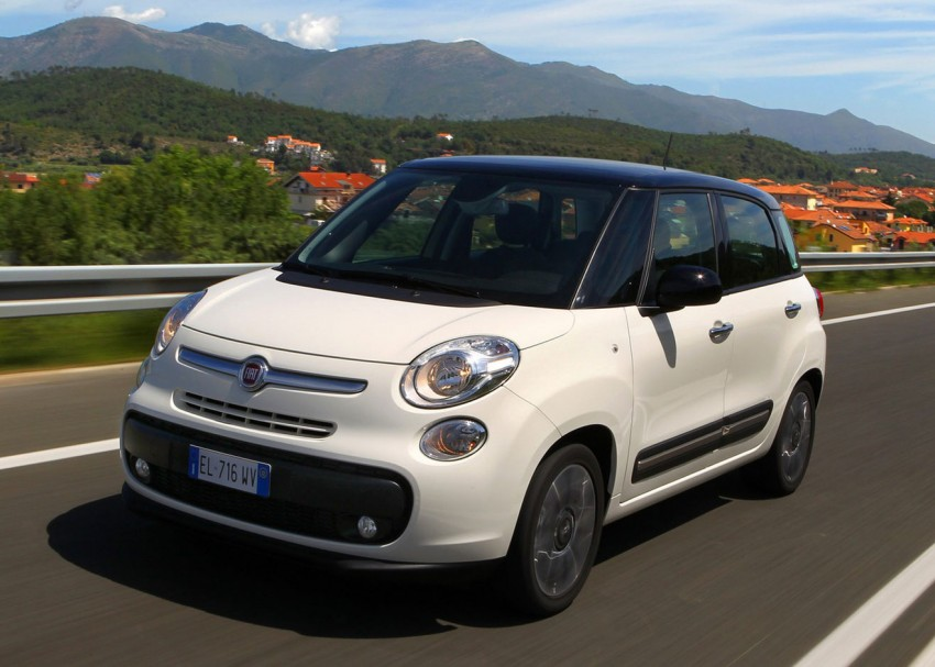 Fiat 500L – new five-door hatch powered by TwinAir engine, Lavazza coffee and Beats by Dr. Dre Image #116580