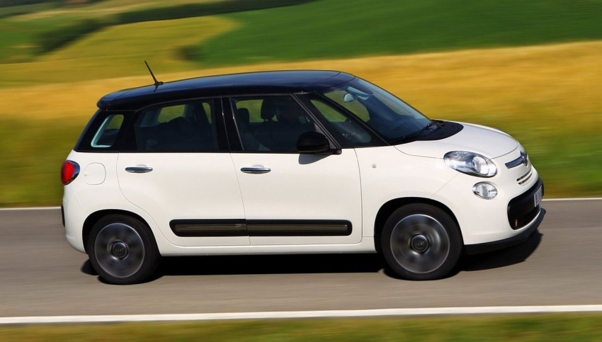 Fiat 500L – new five-door hatch powered by TwinAir engine, Lavazza coffee and Beats by Dr. Dre Image #116582