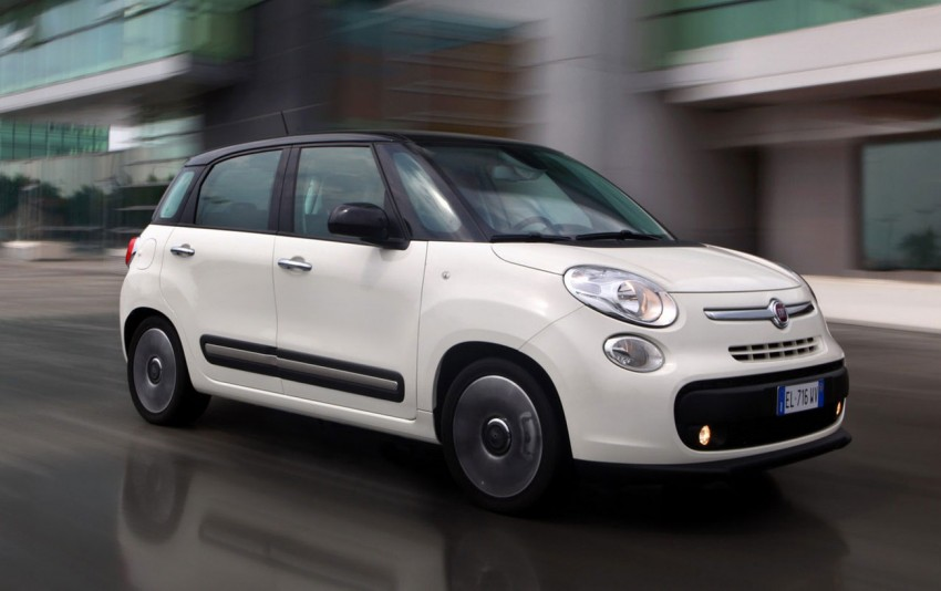 Fiat 500L – new five-door hatch powered by TwinAir engine, Lavazza coffee and Beats by Dr. Dre Image #116585
