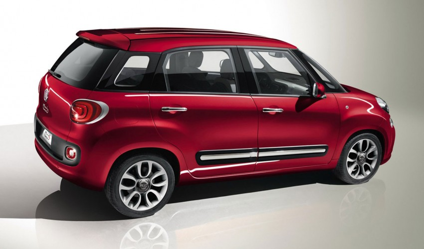 Fiat 500L – new five-door hatch powered by TwinAir engine, Lavazza coffee and Beats by Dr. Dre Image #116586