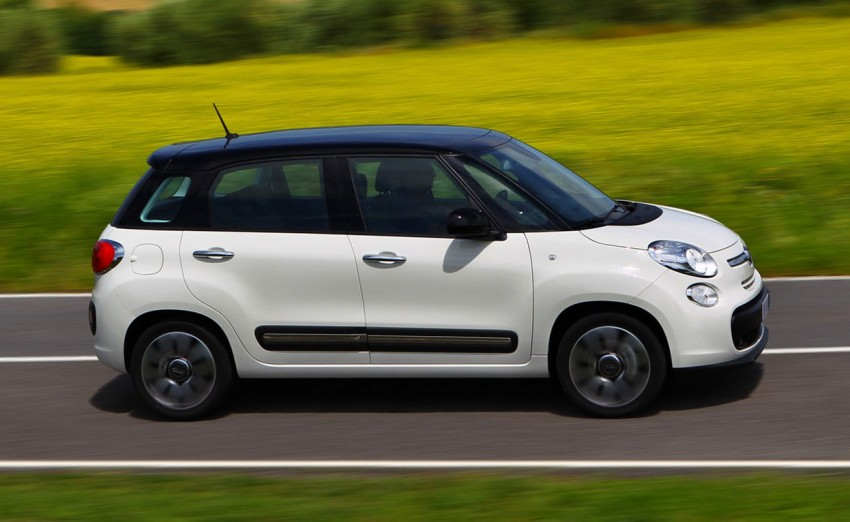 Fiat 500L – new five-door hatch powered by TwinAir engine, Lavazza coffee and Beats by Dr. Dre Image #116588